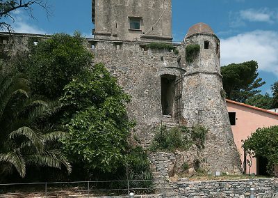 Arte virtuale: The Castle Wall in Liguria