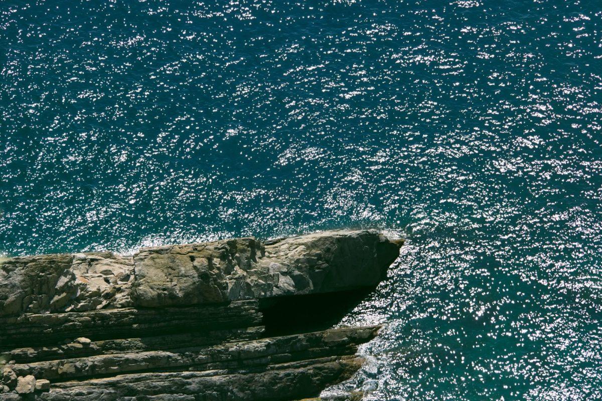 Il mare di Monterosso alle Cinque Terre in una foto d'arte di Paolo Grassi