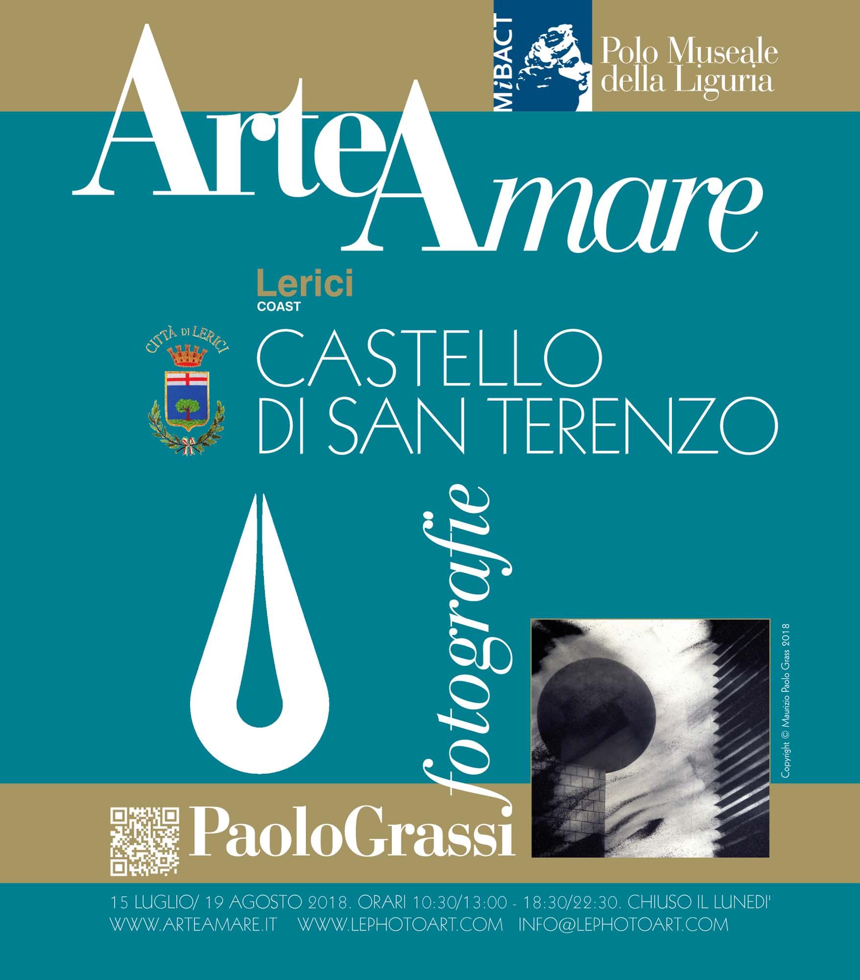 Arte a Lerici. Foto d'arte a Lerici. Manifesto Paolo Grassi