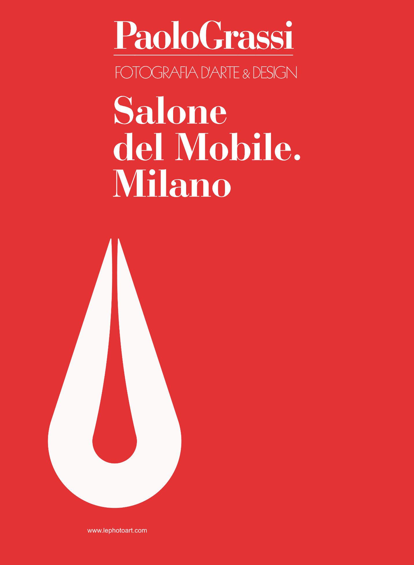 Salone del Mobile. Milano. Copertina Catalogo Fotografia d'arte & Design