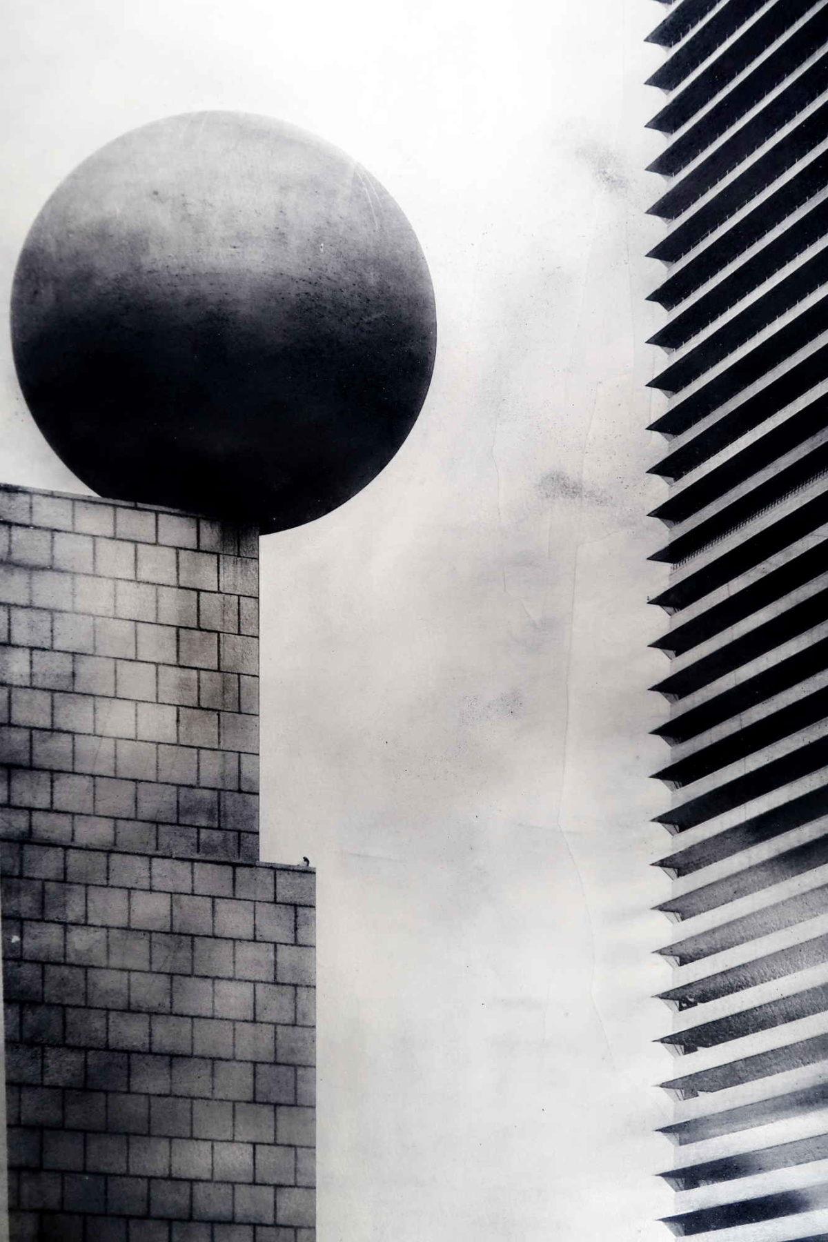 Photo art Barcelona. Frank Gehry building