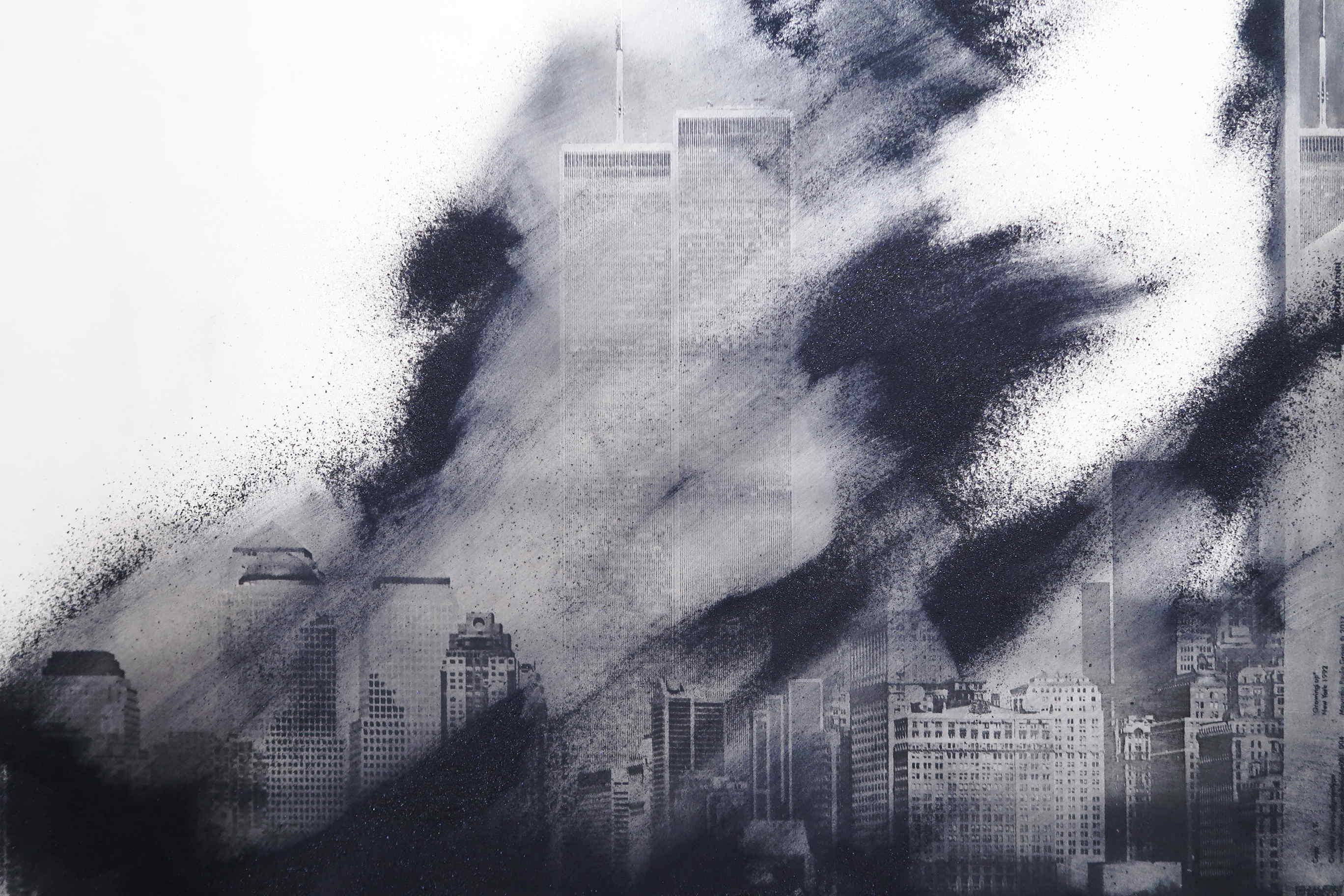 Art photo. Manhattan. Resinotipia