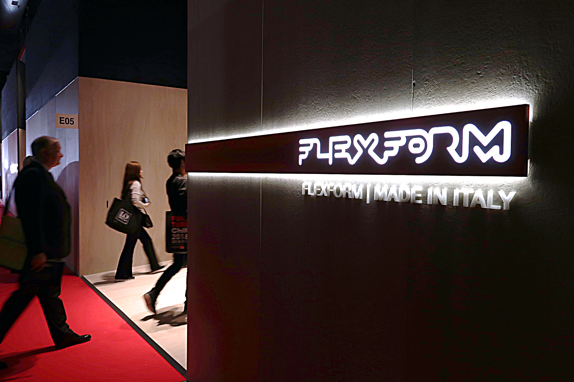 Salone del Mobile. Milano. Vista spazio espositivo